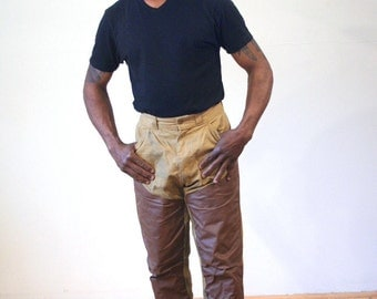 60s Sears Field Pants, 1960s Fishing Pants, Fly Fishing Pants, Field & Stream Pants, Hunting Trousers, Waist 30 Inseam 27