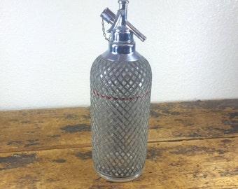 Sparklets Madmen Seltzer Water Bottle / Made in Czechoslovakia
