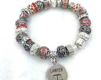 Lawyer Charm Bracelet