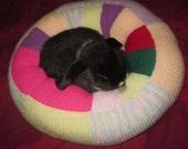 plump Ugli Donut bunny rabbit bed