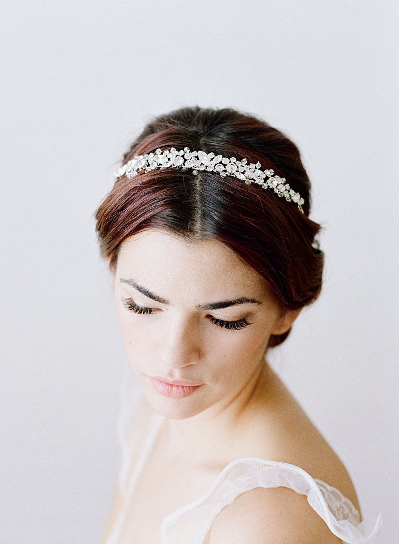 Bridal Headband Swarovski Crystal Headband Wedding Headband