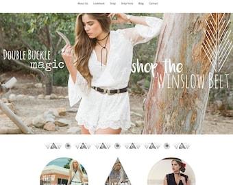 Ecommerce Shopify Website Design (Responsive) | Start Your Own Shop!