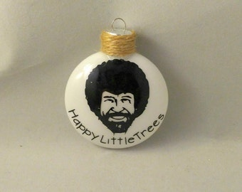 Happy Little Trees Ornament