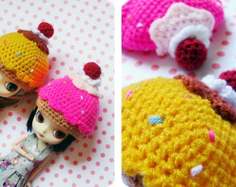 SAVE 10% Cupcake Helmet for Dal by DanielaPink