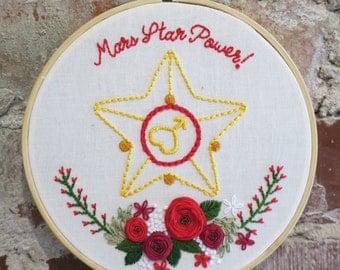 """Mars Star Power 6"""" Hoop"""