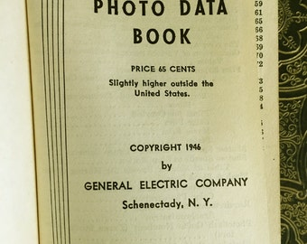 GE Photo Data Book from 1946