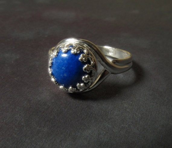 Lapis Lazuli Ring Gemstone 925 Sterling Silver Beautiful Blue. Hawaiian Wedding Rings. Birthstone Chains. White Gold Anklets. Emerald Cut Diamond Engagement Rings. Custom Rings. Frodo Rings. Zirconium Diamond1 Carat Earrings. Solitaire Sapphire