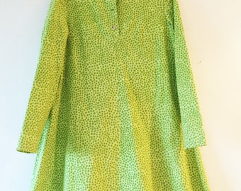 Vintage Marimekko Dress Shirt dress / X Small / 1960 Finland