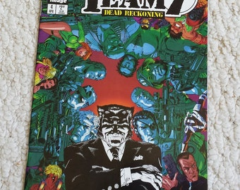 Team 7 Comic Book   Dead Reckoning April 1996 No. 4