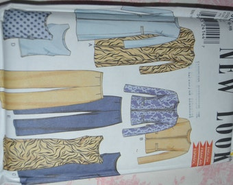 New Look 6006 Womens Jacket Top Dress and Pants Sewing Pattern - UNCUT - Sizes 6 - 16