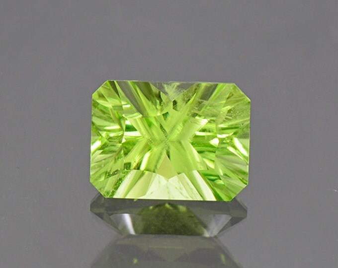 UPRISING SALE! Bright Mint Green Peridot Gemstone from Pakistan 4.24 cts.