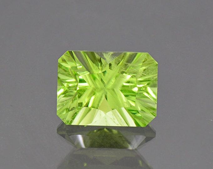 SALE EVENT! Bright Mint Green Peridot Gemstone from Pakistan 4.24 cts.