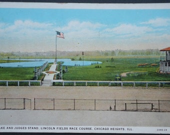 Balmoral Park, Lincoln Fields Race Course Chicago Heights, Illinois