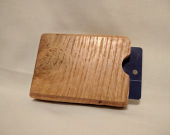 Reclaimed Oak Pallet Wood Gift Card Holder