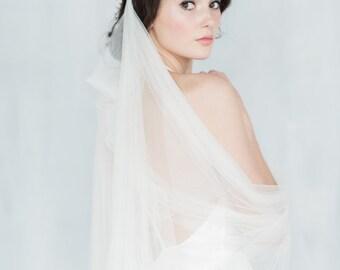 draped veil tulle veil soft veil medieval veil modern veil tulle