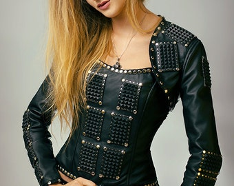 Set: jacket and corset - made to order