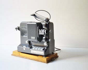 1950's Plank Noris 8 Super 100 Film Projector With Original Carry Case - Made in Germany