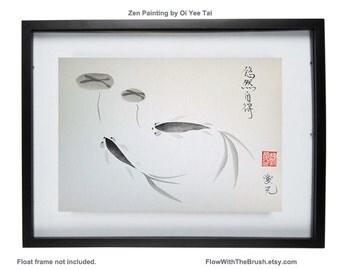 Zen painting - Original Sumi-e