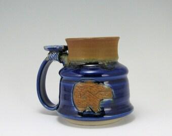 Stoneware Bear Mug