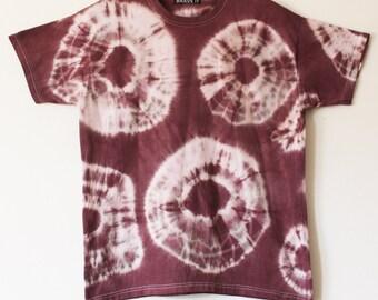 Men's tie dyed t shirt L