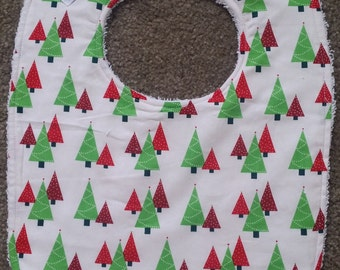 Christmas Trees Bib