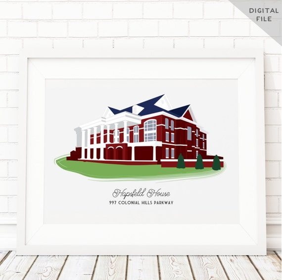 Custom House Portrait For Housewarming Gift First Home