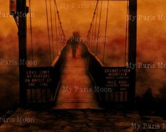 Walk in Clouds; Travel; Digital Photo; Bridges