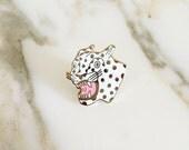 Cheetah Lapel Pin