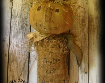Primitive Scarecrow Hanger