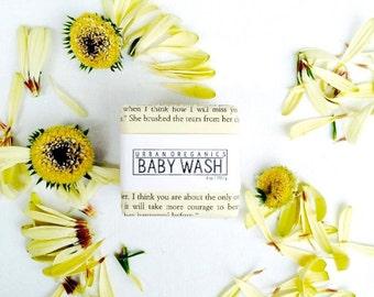 BABY SHAMPOO & WASH // 6oz. 'Calendula Oatmeal' 2-in-1 Soap Bar - - - Vegan ∙ Organic ∙ 100% Natural