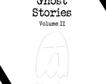 Ghost Stories Zine Volume II. Halloween, Friday 13th Zine with Greek Mythology and More