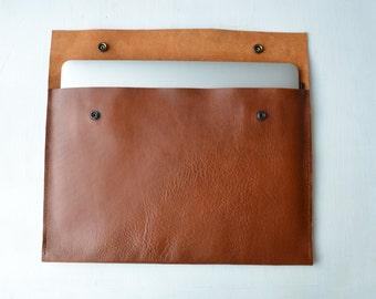 MacBook 11&13' Leather cover/ MacBook sleeve/ Macbook laptop case/ Cover/ Laptop sleeve/ Leather sleeve for Macbook