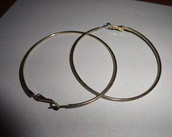 Vintage Pierced Earrings 4 inch length