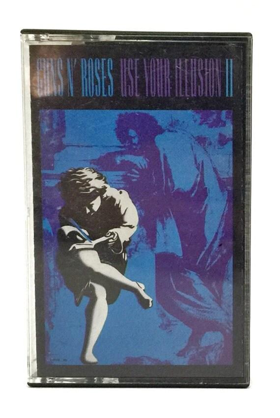 Vintage 90s Guns N' Roses Use Your Illusion II Album Cassette Tape