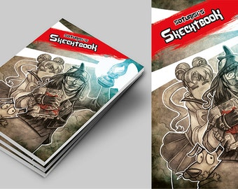 Before 10E NOW 8E!!! LAST COPIES!!! Soturisi's Sketchbook. Art book. Registered mail option