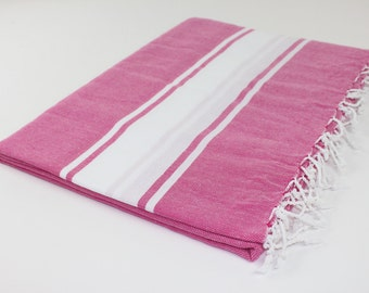 Beach Picnic Oversized Blanket, Beach Towel Blanket, Excellent Quality, Fuchsia , Mother's Day Gift