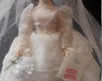 "Vintage Madame Alexander ""Elise"" bride Doll With original box"