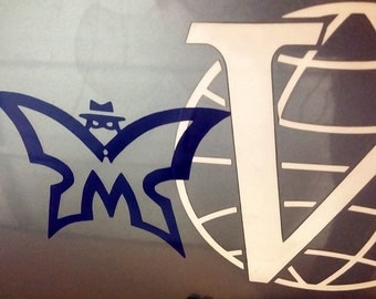 Car Decal - Venture Bros Blue Morpho Monarch Vinyl Laptop Sticker