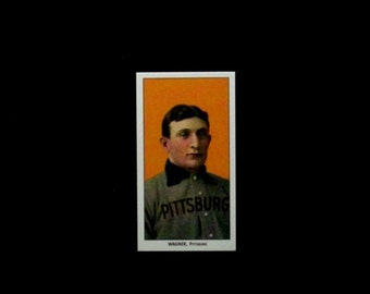 1909-11 T206 White Border *Sweet Caporal* #486 Honus Wagner [Pittsburgh Pirates] Repro