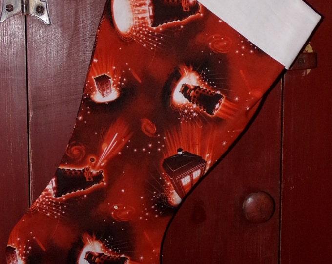 Dr. Who Christmas Stocking