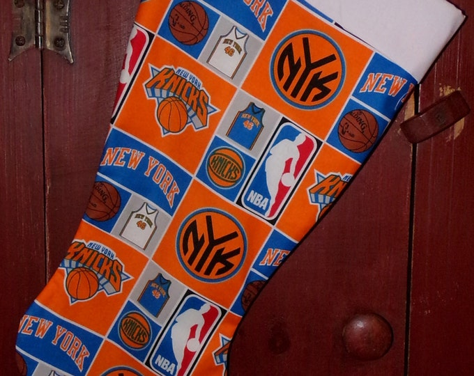 Knicks Christmas Stocking