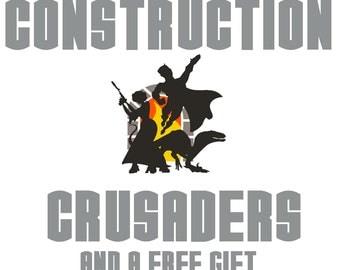 Construction Crusader Digital Pattern Download