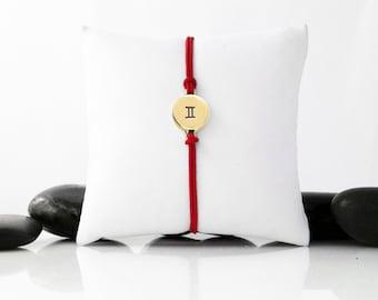 Gemini, Zodiac Jewelry, Gemini Zodiac, Astrology Jewelry, Zodiac Sign, Gemini Charm, Gemini Bracelet, Birthday Gift, Zodiac Bracelet, B246BR