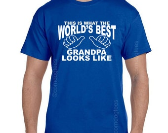 Gifts for Grandpa, Grandparent Gifts, Grandpa Shirt, Gift from Grandkids, Grandpa TShirt, Grandparent Gifts, Grandpa Gift, BEST GRANDPA