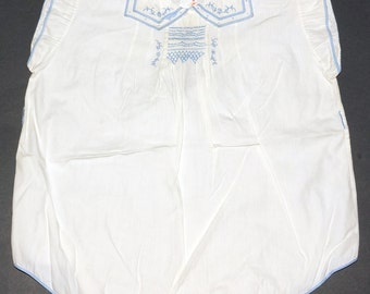 1920s 1930s Onesy Embroidered Vintage Retro Baby