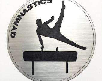 Men's Gymnastics Magnet