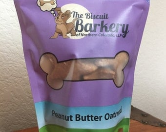 All Natural, Peanut Butter Dog Treats.
