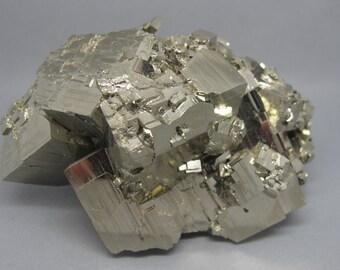Pyrite Cube Cluster | Peru