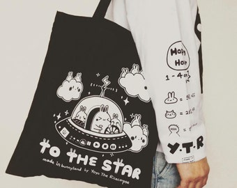 TO THE STAR tote bag