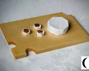 Maple wooden cheese Board